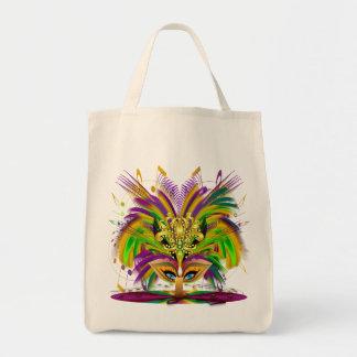 Mardi-Gras-Mask-The-Queen-V-4 Tote Bag