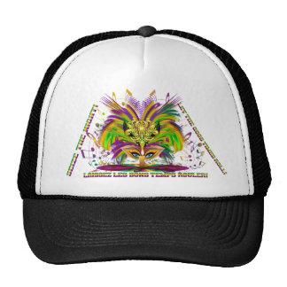 Mardi-Gras-Mask-The-Queen-V-4 Trucker Hat