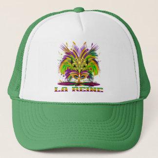 Mardi-Gras-Mask-The-Queen-V-4, Z-La Reine Trucker Hat