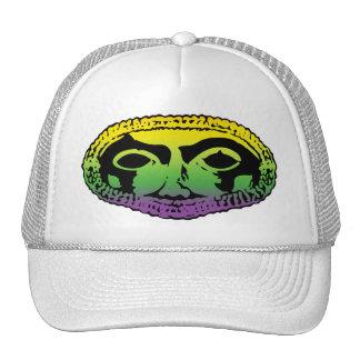 Mardi Gras Mask Trucker Hat