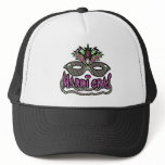 Mardi Gras Mask Trucker Hat