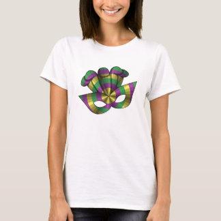 Mardi Gras Mask Women's Light Shirt