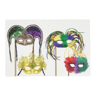 Mardi Gras Masks 1 Placemat