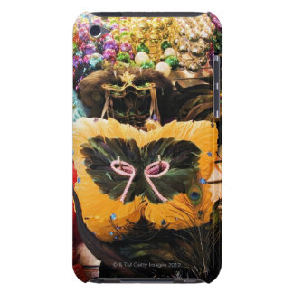 Mardi Gras masks and beads on display iPod Touch Case