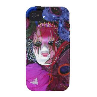 Mardi Gras Masks Case-Mate iPhone 4 Covers