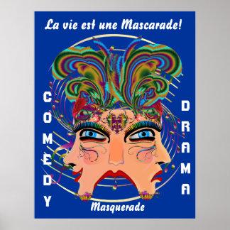 Mardi Gras Masq Comedy Drama View Hints Plse Poster