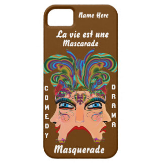 Mardi Gras Masq Drama Important View Hints Please iPhone 5 Cases