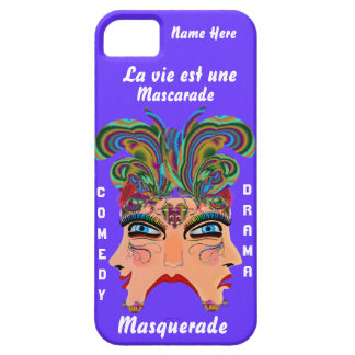 Mardi Gras Masq Drama Important View Hints Please iPhone 5 Cover