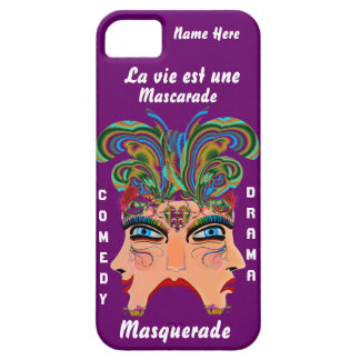 Mardi Gras Masq Drama Important View Hints Please iPhone 5 Covers
