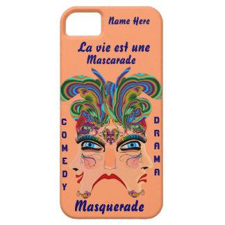 Mardi Gras Masq Drama Important View Hints Please iPhone SE/5/5s Case
