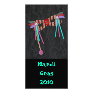 Mardi Gras Masque, Card