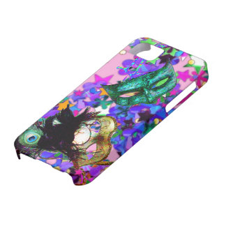 MARDI GRAS MASQUERADE BALL MASK  confetti iPhone SE/5/5s Case