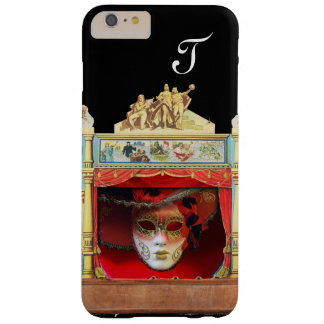 MARDI GRAS MASQUERADE BALL THEATRE STAGE Monogram Barely There iPhone 6 Plus Case