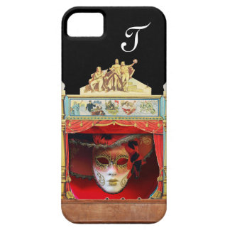 MARDI GRAS MASQUERADE BALL THEATRE STAGE Monogram iPhone SE/5/5s Case