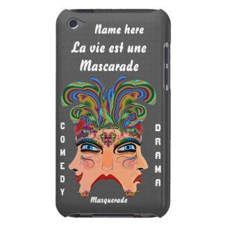 Mardi Gras Masquerade Comedy Drama View Hints Plse Barely There iPod Case