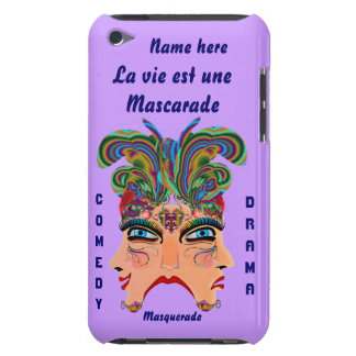 Mardi Gras Masquerade Comedy Drama View Hints Plse Barely There iPod Case