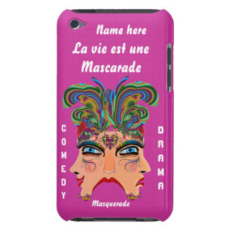 Mardi Gras Masquerade Comedy Drama View Hints Plse Barely There iPod Cover