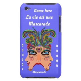 Mardi Gras Masquerade Comedy Drama View Hints Plse Barely There iPod Cover