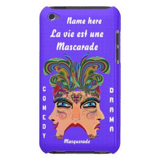 Mardi Gras Masquerade Comedy Drama View Hints Plse Case-Mate iPod Touch Case