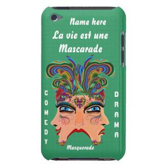 Mardi Gras Masquerade Comedy Drama View Hints Plse iPod Case-Mate Case