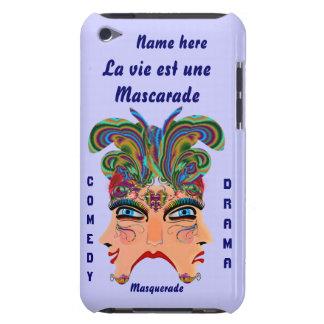 Mardi Gras Masquerade Comedy Drama View Hints Plse iPod Touch Case-Mate Case