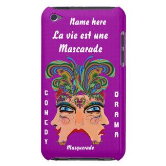 Mardi Gras Masquerade Comedy Drama View Hints Plse iPod Touch Cover
