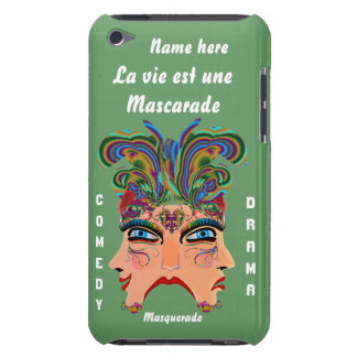 Mardi Gras Masquerade Comedy Drama View Hints Plse iPod Touch Cover