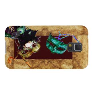 MARDI GRAS MASQUERADE parchment Samsung Galaxy Nexus Case