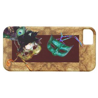 MARDI GRAS MASQUERADE parchment iPhone 5 Cases