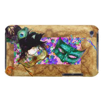 MARDI GRAS MASQUERADE parchment confetti Case-Mate iPod Touch Case