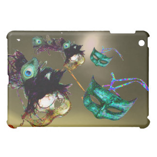 MARDI GRAS MASQUERADE PARTY grey Case For The iPad Mini