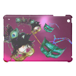 MARDI GRAS MASQUERADE PARTY pink iPad Mini Cover
