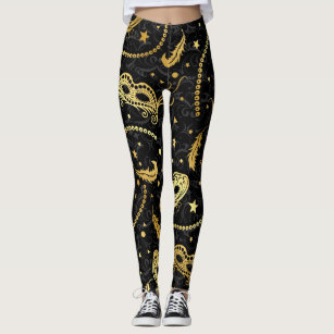 118f9fb5ad162 Mardi Gras Masquerade Pop Fashion Leggings