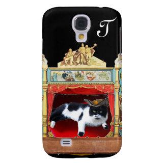 MARDI GRAS MASQUERADE THEATRE CAT Monogram Galaxy S4 Case