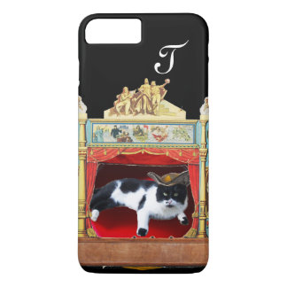 MARDI GRAS MASQUERADE THEATRE CAT Monogram iPhone 8 Plus/7 Plus Case