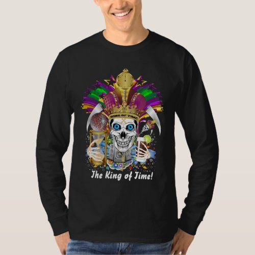 Mardi Gras Men All Styles Dark only T_Shirt