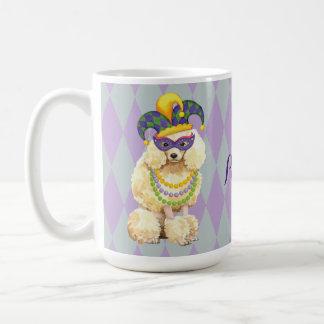 Mardi Gras Miniature Poodle Coffee Mug