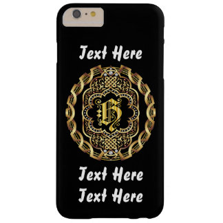 Mardi Gras Monogram H IMPORTANT Read About Design Barely There iPhone 6 Plus Case