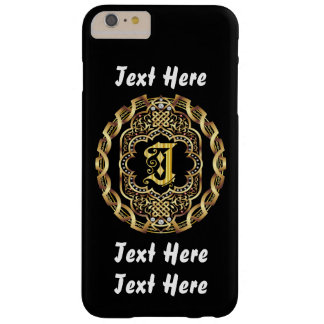 Mardi Gras Monogram J IMPORTANT Read About Design Barely There iPhone 6 Plus Case