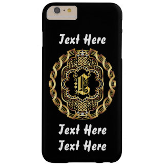 Mardi Gras Monogram L IMPORTANT Read About Design Barely There iPhone 6 Plus Case