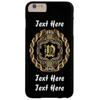 Mardi Gras Monogram N IMPORTANT Read About Design Barely There iPhone 6 Plus Case