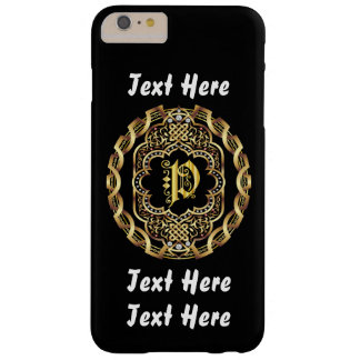 Mardi Gras Monogram P IMPORTANT Read About Design Barely There iPhone 6 Plus Case