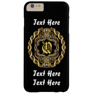 Mardi Gras Monogram Q IMPORTANT Read About Design Barely There iPhone 6 Plus Case