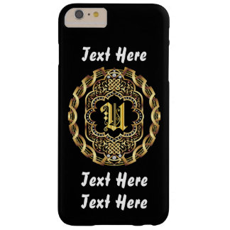 Mardi Gras Monogram U IMPORTANT Read About Design Barely There iPhone 6 Plus Case