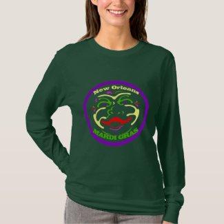 Mardi Gras Moon Face T-Shirt