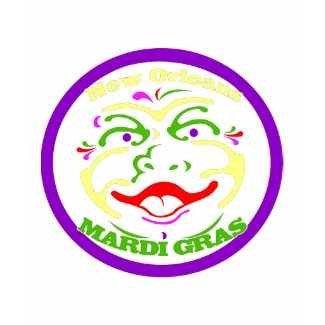 Mardi Gras Moon Face shirt