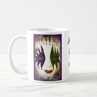 Mardi Gras Classic White Coffee Mug