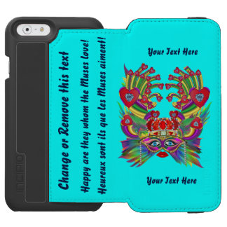 Mardi Gras Muses 1R View About Design iPhone 6/6s Wallet Case