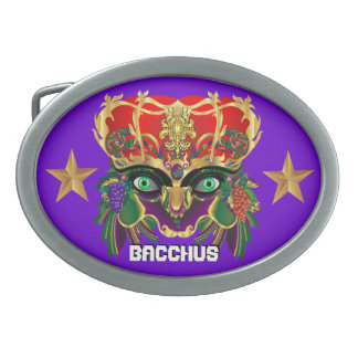 Mardi Gras Mythology Bacchus View Hints Please Belt Buckle