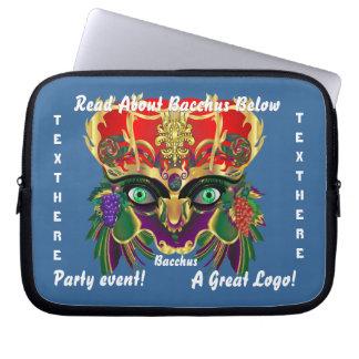 Mardi Gras Mythology Bacchus View Hints Please Computer Sleeve